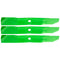 8TEN 810-CBL2239D Blade 3-Pack for John Deere M143520 GY20569