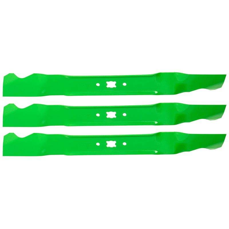 8TEN 810-CBL2248D Blade 3-Pack for zOTHER Stens Snapper Oregon MTD