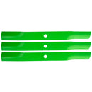 8TEN 810-CBL2208D Blade 3-Pack for Stens Oregon MTD John Deere
