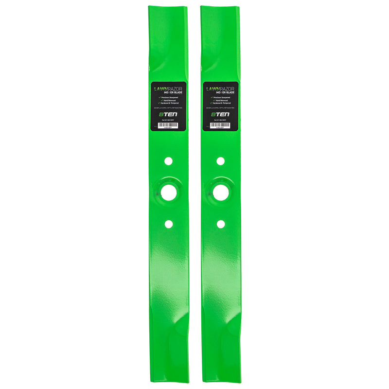 LawnRAZOR High-Lift Lawn Mower Blade Set 2-Pack for Oregon MTD Cub Cadet Troy-Bilt HONDA 8TEN 810-CBL2219D