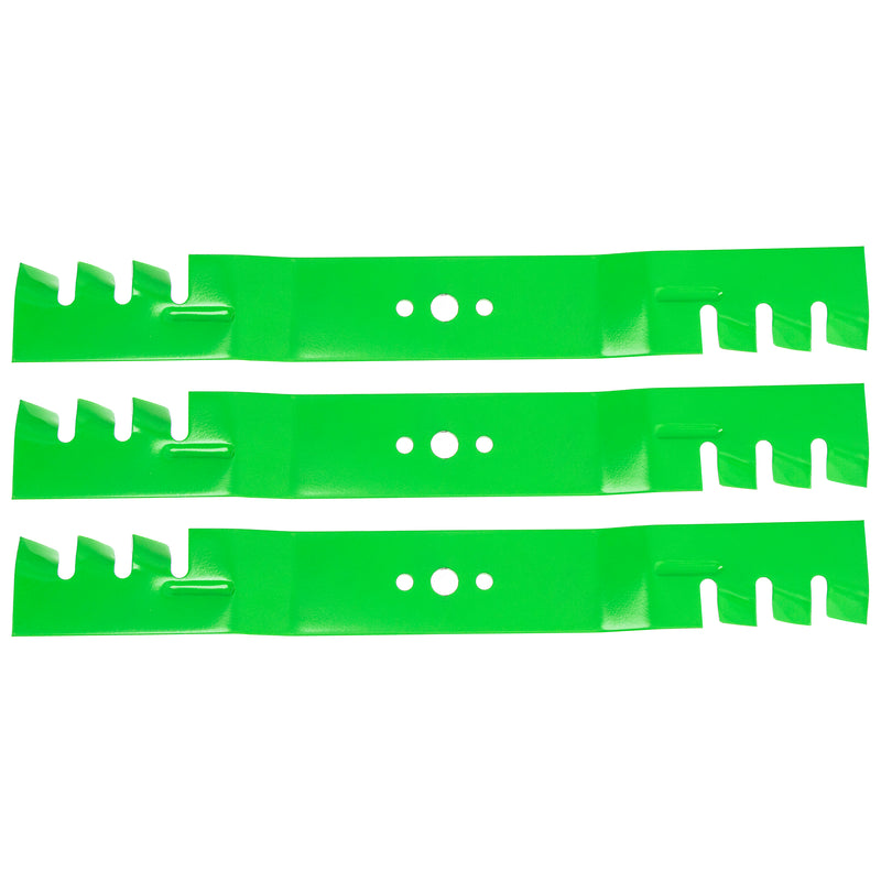 8TEN 810-CBL2336D Toothed Mulching Blade set 3-Pack for zOTHER