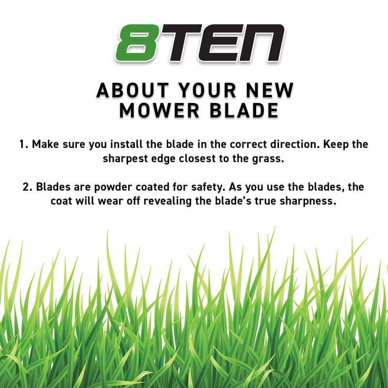 LawnRAZOR Mower Blade for MTD White Troy Bilt 742-0623 942-0623 50