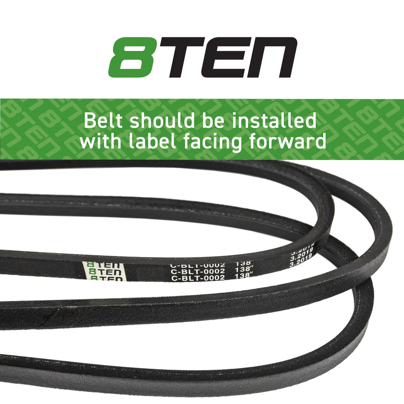 8TEN Deck Belt B1MT136 B17540642 954-0642 75-994