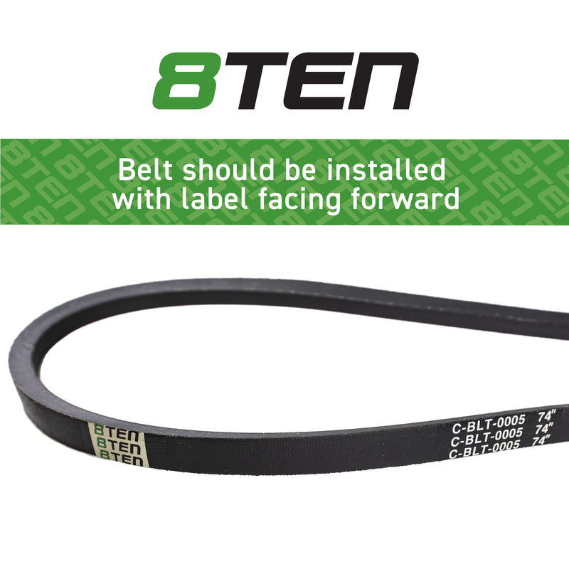 8TEN Deck Belt SB-6845 B1MT96 B1MT104 954-0371A