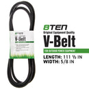 8TEN 810-CBL2245T PTO Belt for Cub Cadet 954-3055A 754-3055A 265-803