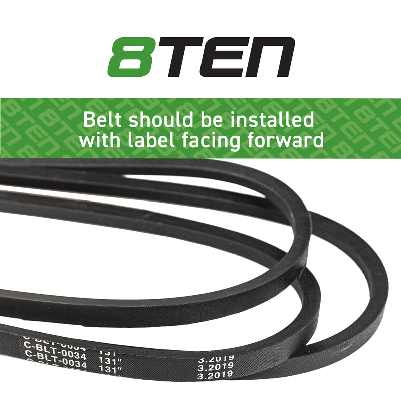 8TEN Deck Belt B175404048 954-04048 75-716 754-04048