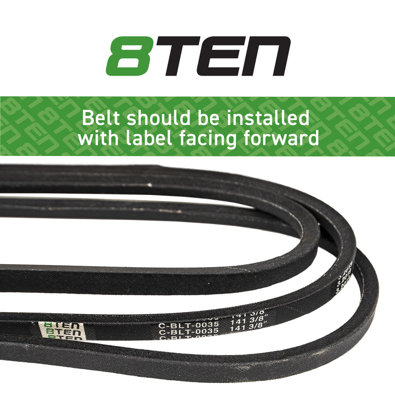 8TEN Deck Belt TCU13198 B1TCU13198 B1JD186 7-078312