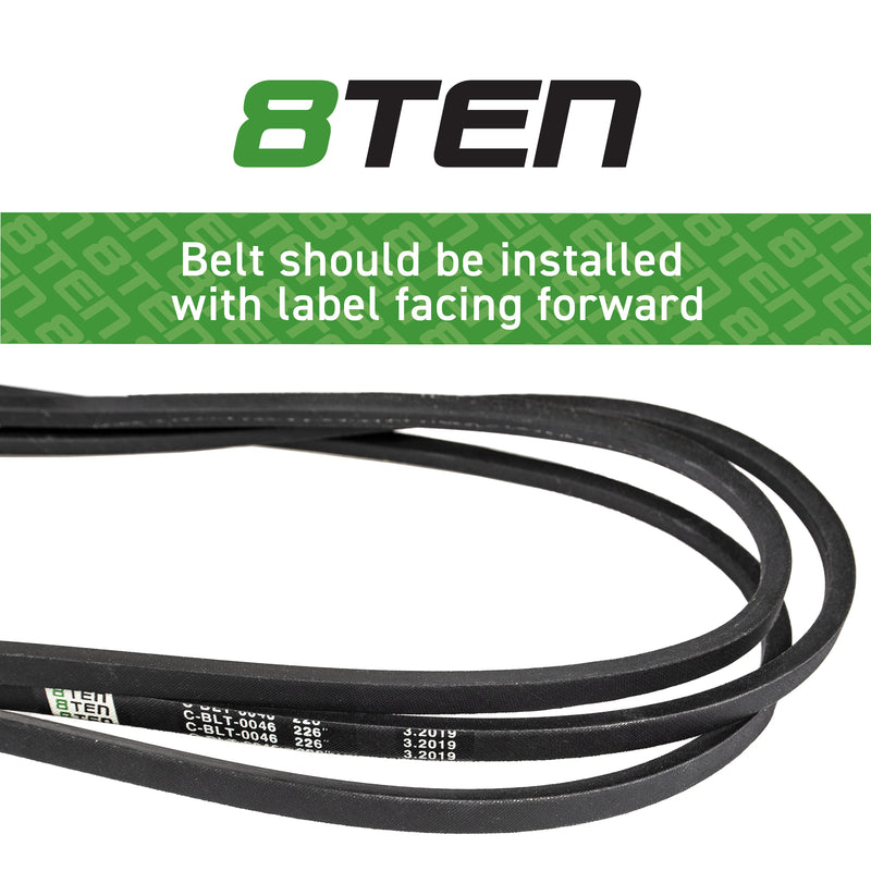 8TEN Deck Belt B11057790 265-321 230-0321 12805