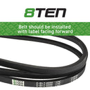 8TEN Deck Belt B11067369 5022061 265-887 230-0887