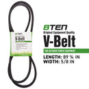 8TEN 810-CBL2294T Deck Belt for zOTHER Stens Scag Oregon MTD Cub