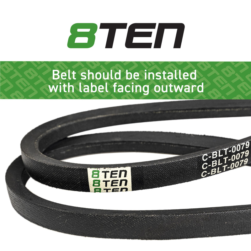8TEN Pump Drive Belt UC18233 TCU34214 71460064 7-078236