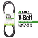 8TEN 810-CBL2203T Drive Belt for Dixon 1611 6111 539116200 265-823