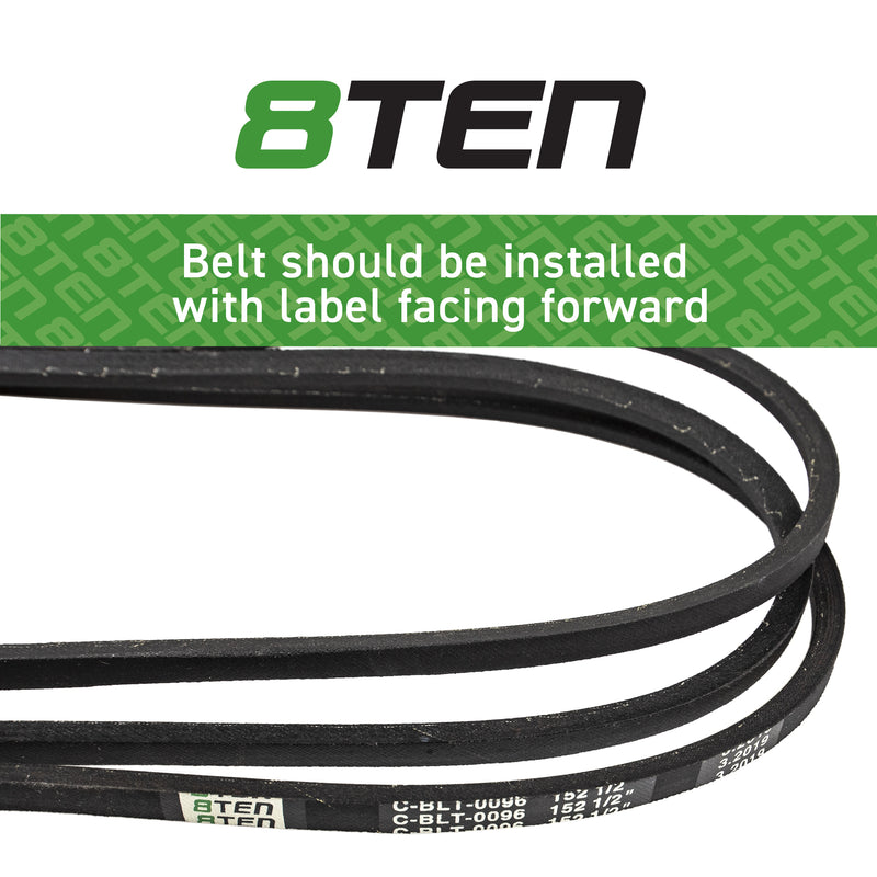 8TEN Deck Belt M158131 M154296 B1M158131 265-567 13158
