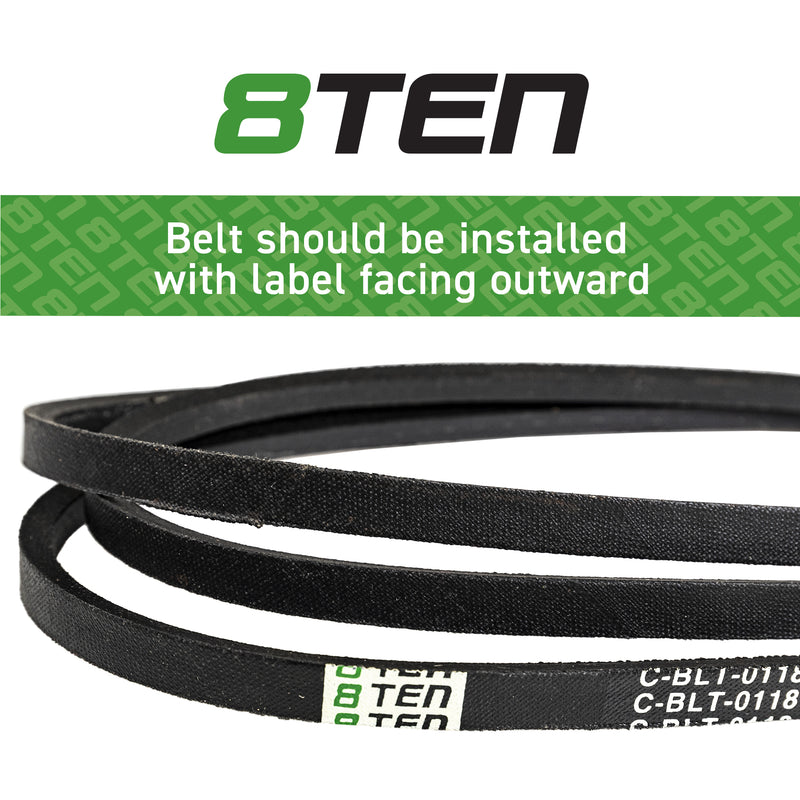 8TEN Deck Belt SB-8516 OEM-144200 B1RS55 B1144200