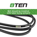 8TEN Deck Belt 754-04045 954-04045 754-04045 954-04045