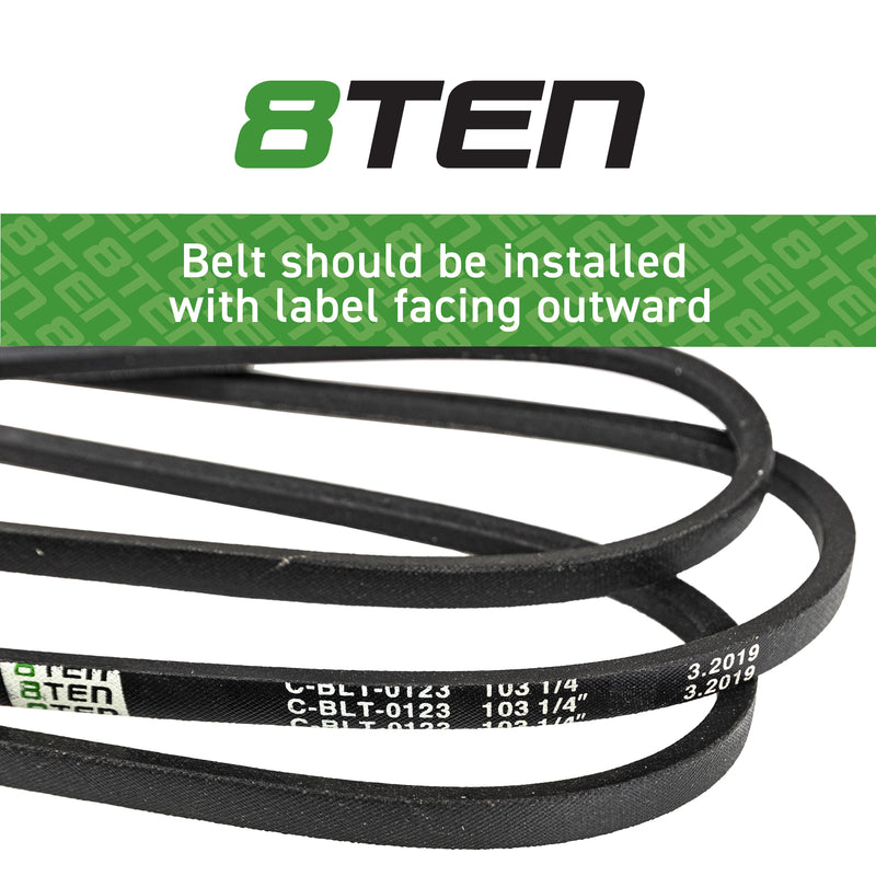 8TEN Deck Belt 754-04219 954-04219 OCC-754-04219