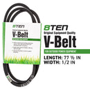8TEN 810-CBL2364T Deck Belt for Cub Cadet Massey Ferguson MTD Rover