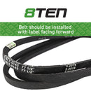 8TEN Deck Belt 754-04062 954-04062 954-04062 754-04062