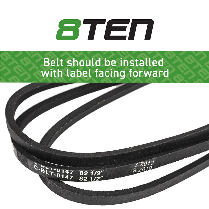 8TEN Drive Belt B1RS18 B1EP50 B1161597 75-653 532161597