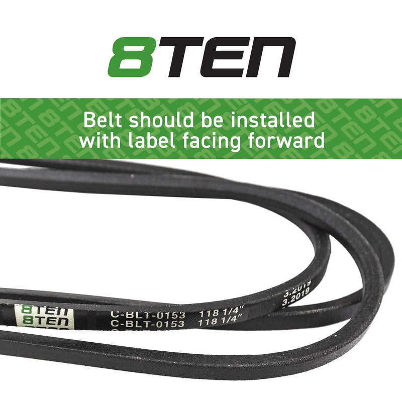 8TEN Deck Belt 754-04033 754-04033A 954-04033