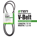8TEN 810-CBL2389T Drive Belt for AYP Craftsman Husqvarna John Deere