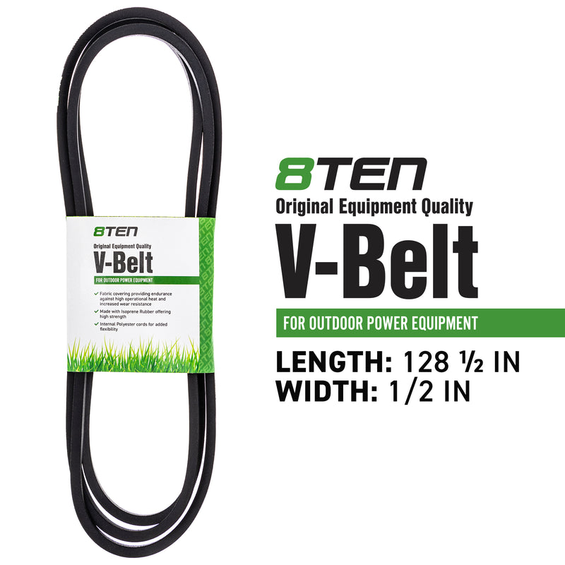 8TEN 810-CBL2313T Transmission Drive Belt for Stens Oregon MTD Cub