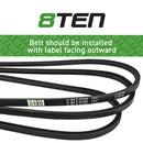 8TEN Deck Belt 754-05008 954-05008 754-05008 954-05008