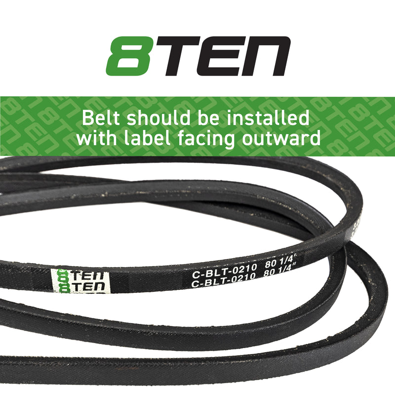 8TEN Hydro Drive Belt B11672135 265-767 230-4767