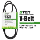 8TEN 810-CBL2433T Drive Belt for Troy-Bilt 1770334 265-113