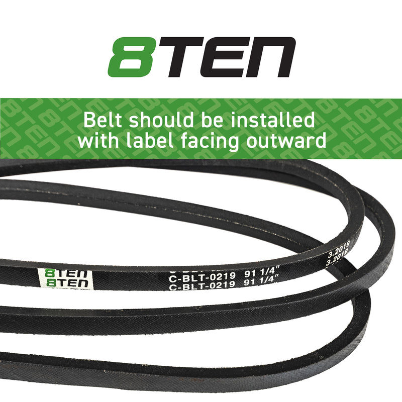 8TEN Deck Belt 265-634 265-452 1726472SM 1726472