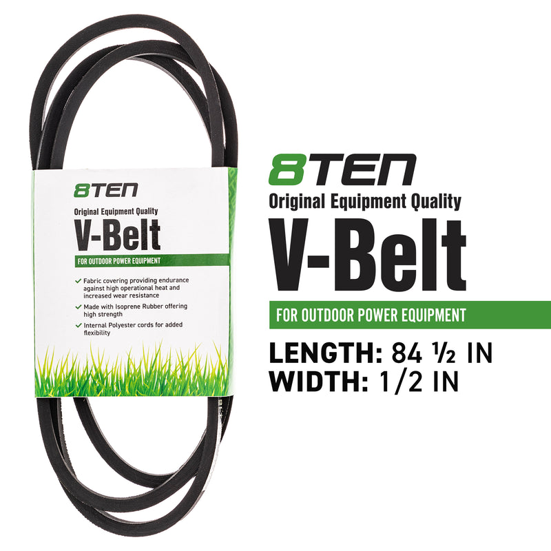 8TEN 810-CBL2456T Drive Belt for zOTHER Stens Oregon MTD Cub Cadet