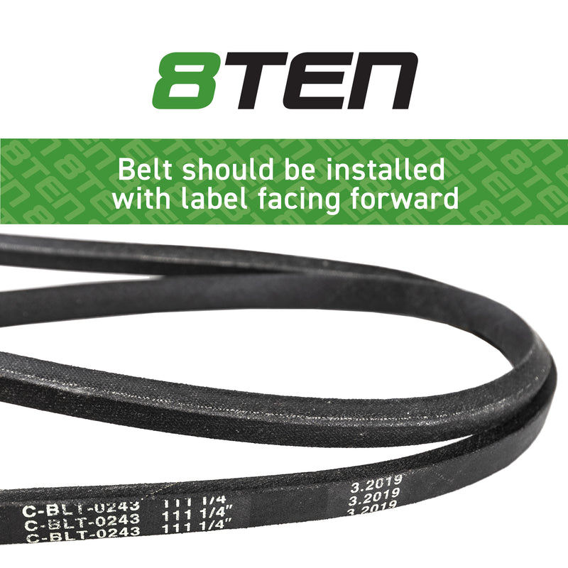 8TEN Deck Belt M154958 M110313 B1M110313 B1JD86 75-295