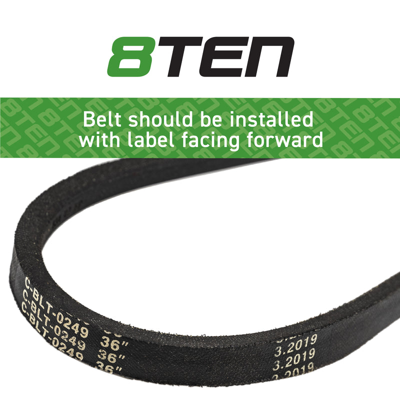 8TEN Drive Belt OEM-754-0453 B1MT113 B17540453 954-0453