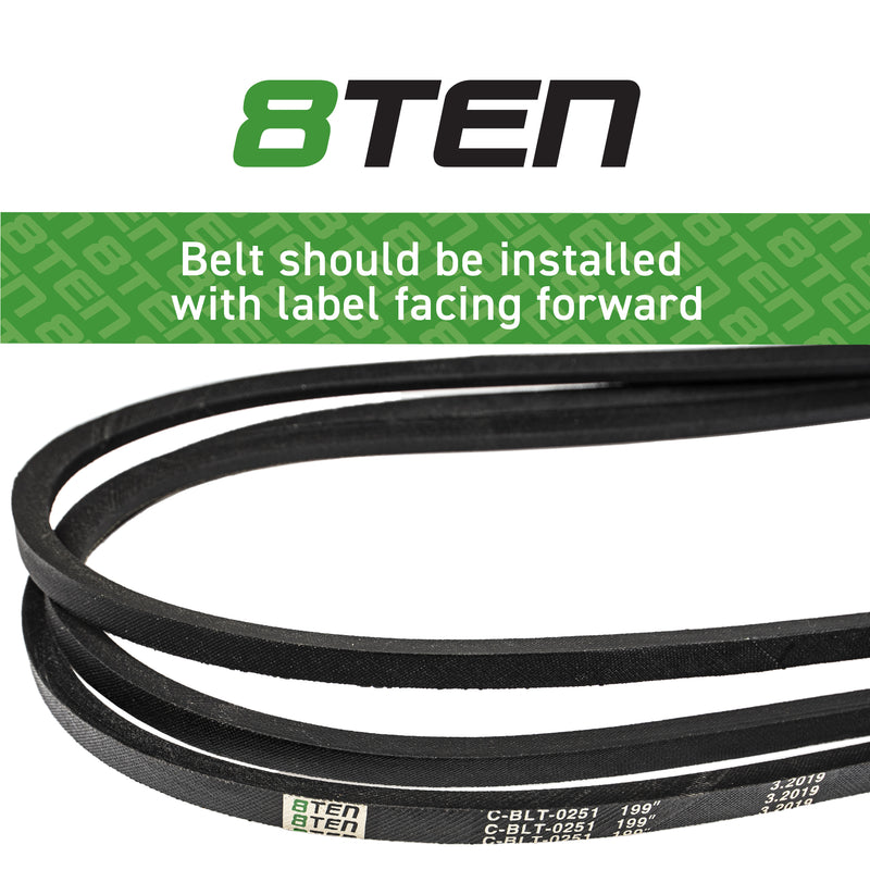 8TEN Deck Belt B11098073 265-164 230-0164 15-117 14167