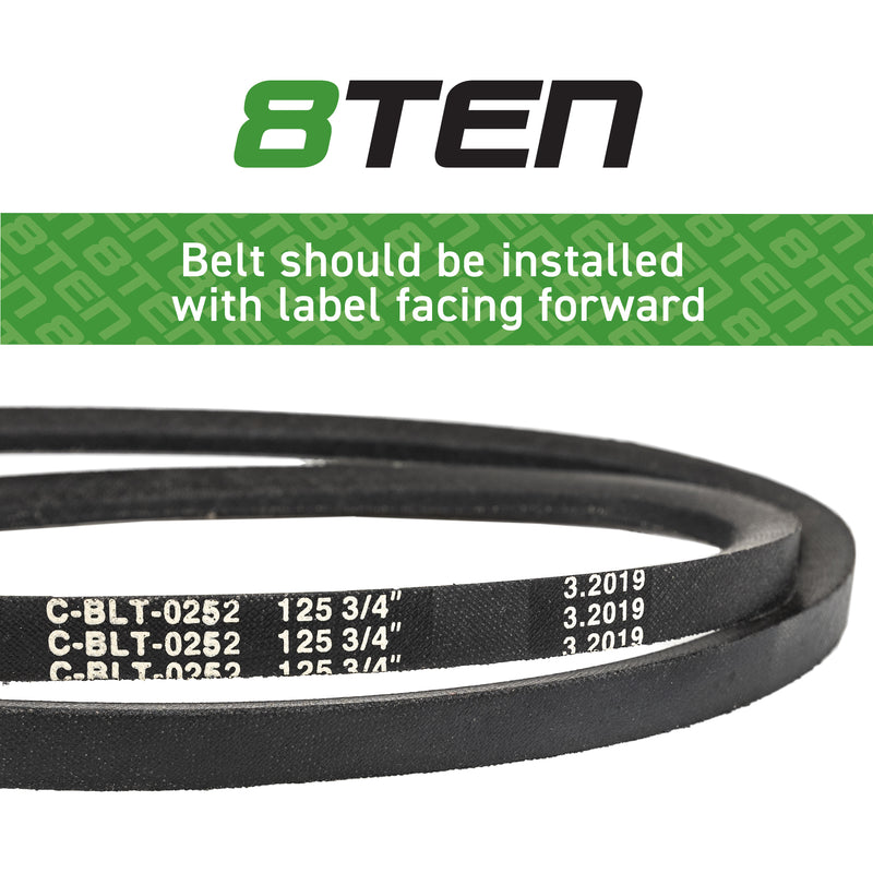 8TEN Mule Drive Belt TCU16495 B1TCU16495 7-078315