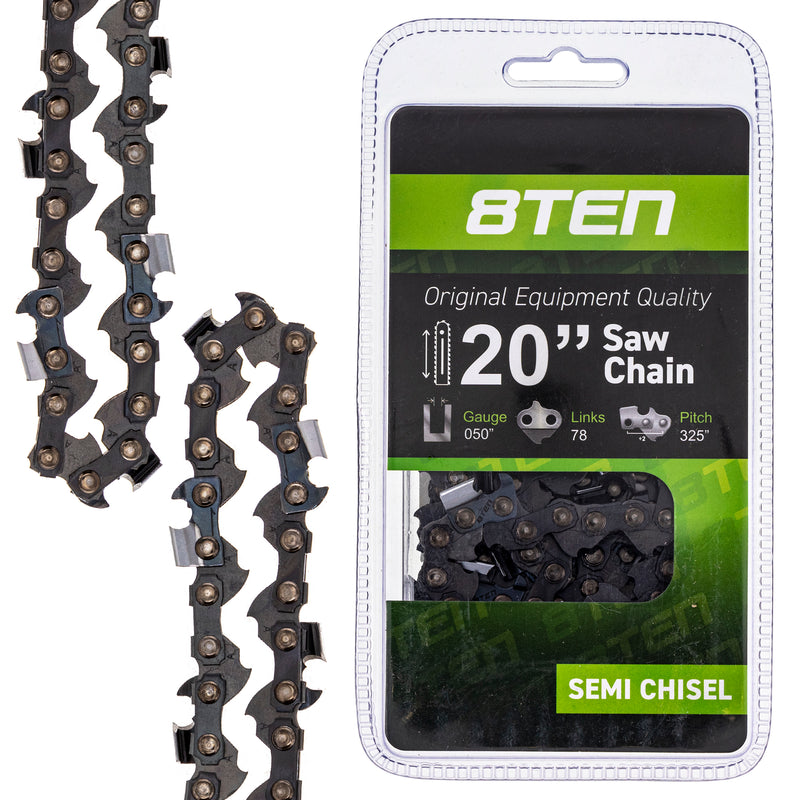 Chainsaw Chain for McCulloch Sabre Stihl Windsor 520 PMG320GX K1C-078G 50J78 8TEN 810-CCC2229H