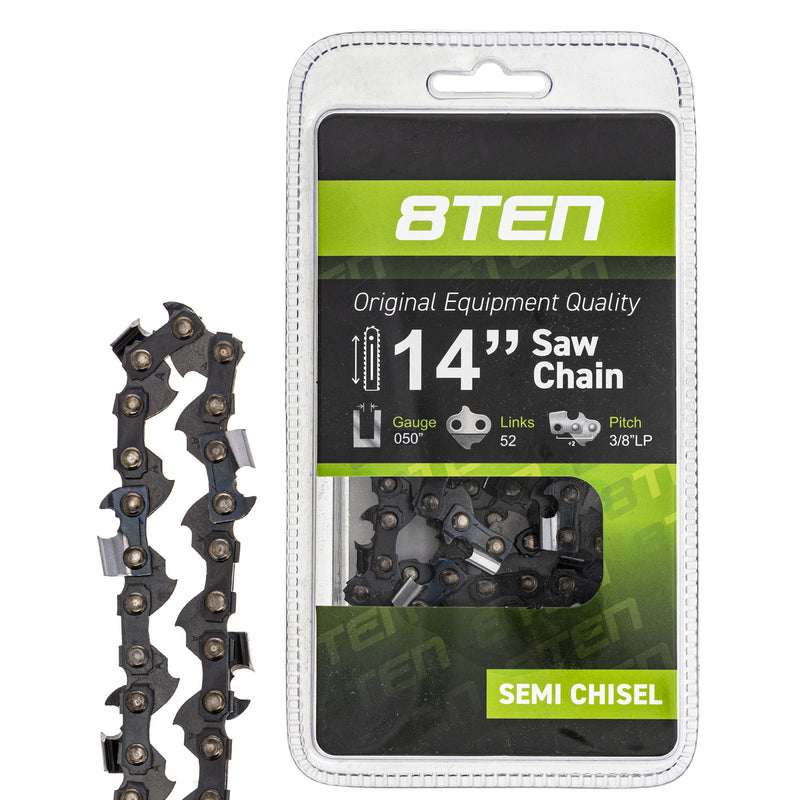 Chainsaw Chain for zOTHER Stens Oregon Ref. Oregon Husqvarna Poulan Craftsman AYP RedMax 8TEN 810-CCC2234H