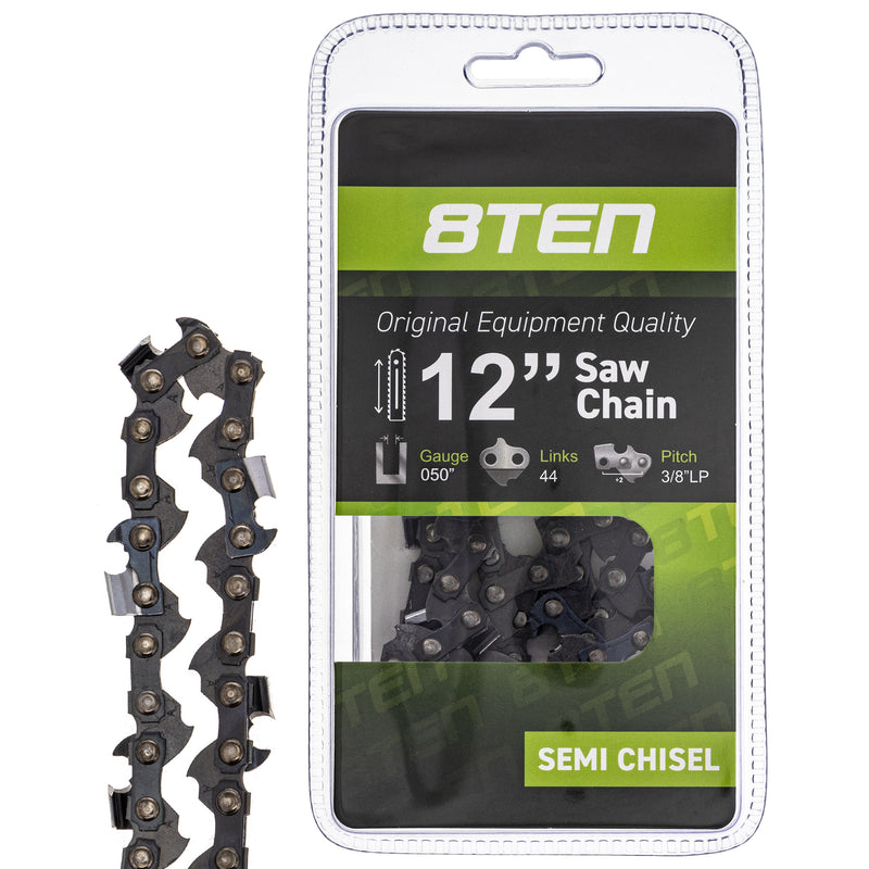 Chainsaw Chain for zOTHER Windsor Stens Oregon Ref. Oregon GB Carlton R50S-1PL44 N1C-44G 8TEN 810-CCC2239H