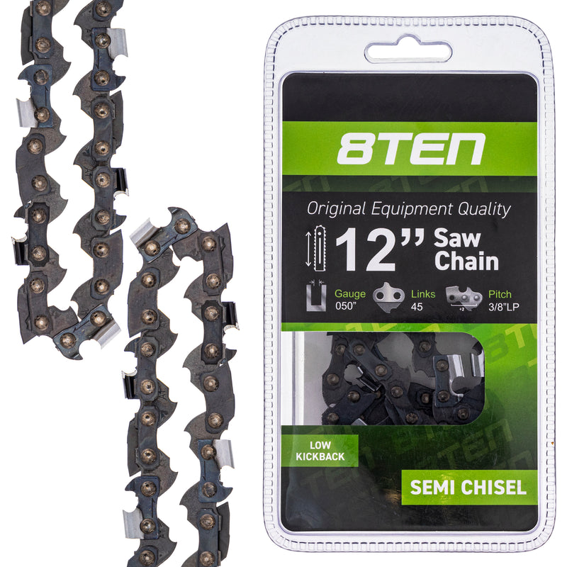 Chainsaw Chain for zOTHER Windsor Stens Oregon Ref. Oregon Lucas Oil Carlton N1C-BL-45E 8TEN 810-CCC2249H