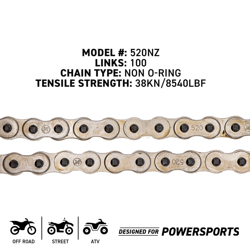 NICHE 519-CDC2267H Drive Chain for zOTHER Kawasaki Honda YZ100 XT250