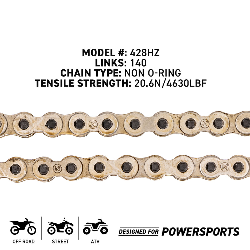 NICHE 519-CDC2357H Drive Chain for Suzuki