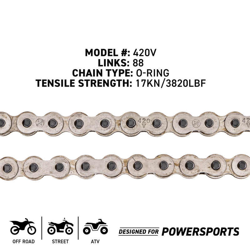 NICHE 519-CDC2317H Drive Chain for zOTHER MTD Cub Cadet Troy-Bilt