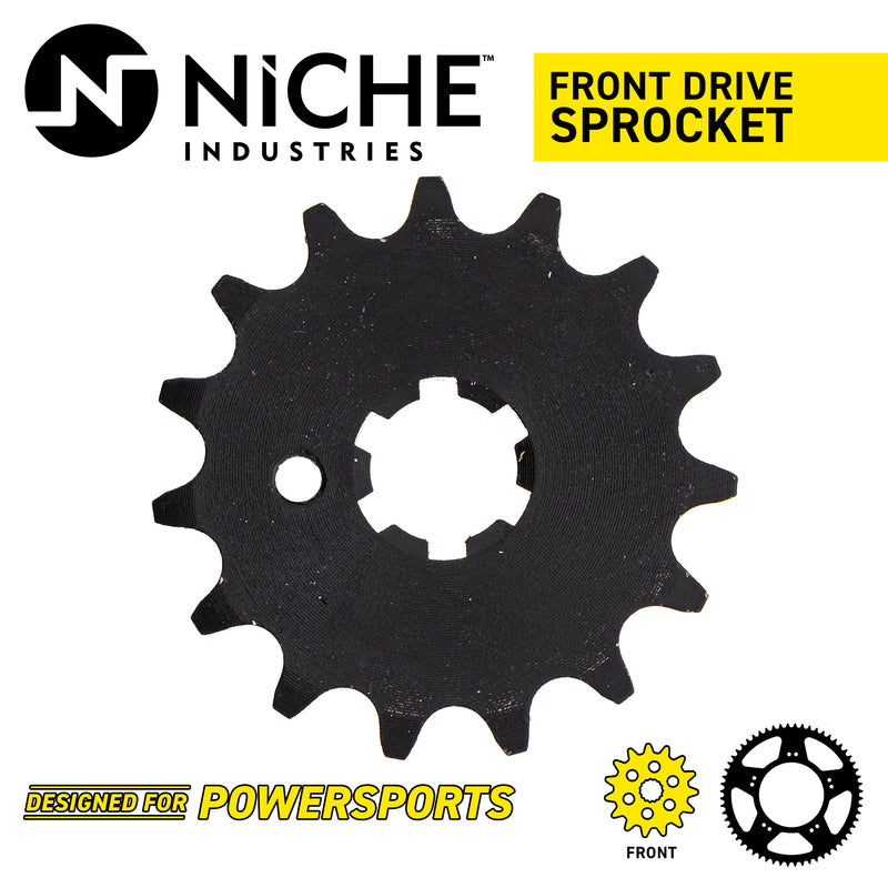 NICHE 519-CDS2293P Front Drive Sprocket for Yamaha JT Sprocket YL2