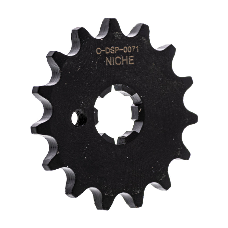 420 15 Tooth Front Drive Sprocket 1963-2006 Yamaha PW80 DT100 MX100
