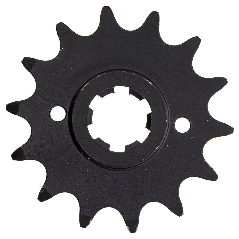 Front Drive Sprocket for Suzuki JT Sprocket RS250 RM465 RM400 RM370 27511-14210 JTF431-14 NICHE 519-CDS2217P