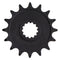 Front Drive Sprocket for JT Sprocket Kawasaki Ninja 13144-0038 JTF1536-16 NICHE 519-CDS2345P