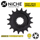 NICHE 519-CDS2341P Front Drive Sprocket for Kawasaki JT Sprocket