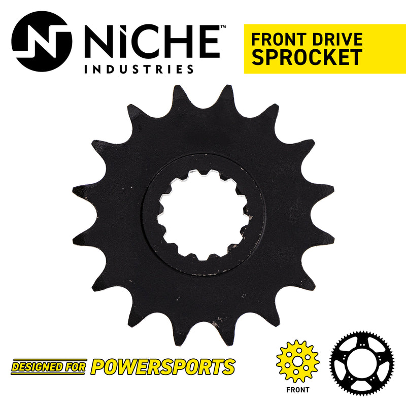 NICHE 519-CDS2373P Front Drive Sprocket for Yamaha JT Sprocket YZF