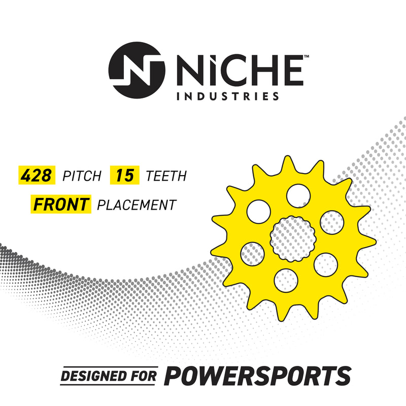 NICHE Rear Drive Sprocket 23800-GCF-A20 23800-GC4-600