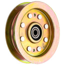 Heavy Duty Flat Idler Pulley 44 50 Inch Deck for Cub Cadet MTD Z-Force LTX1050 Tank 48 60 S6031 S6032 02004447